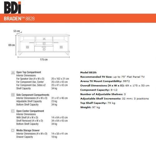 BDI Braden 8828 - 1