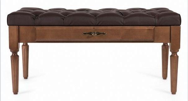 Мебелик  Банкетка Оливия эко-кожа - 2