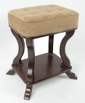 Мебелик Берже 26  банкетка темнок