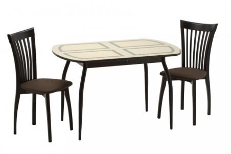 Кубика стол Портофино-2 с рисунком