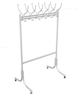 Мебелик М 11 алюминий на колесах